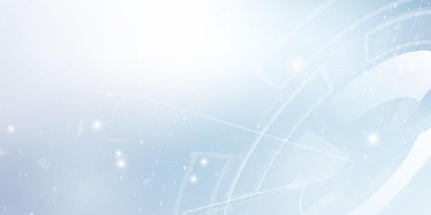 Fondo astratto di comunicazione di tecnologia