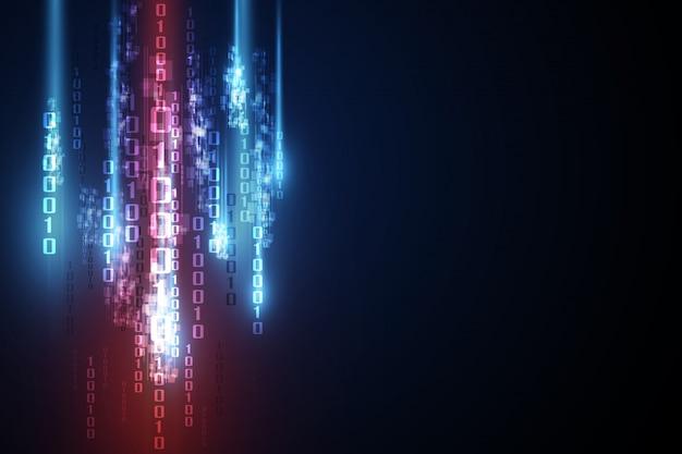 Sicurezza astratta della tecnologia su sfondo di rete globale
