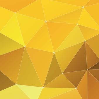 Abstract triangolo geometrico sfondo multicolore, yellow