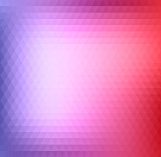Triangolo astratto sfondo rosa