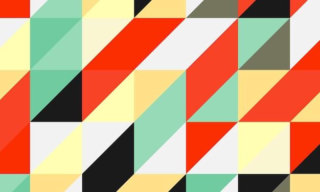 Triangoli astratti nel modello senza cuciture. progetta per il tuo sito web.