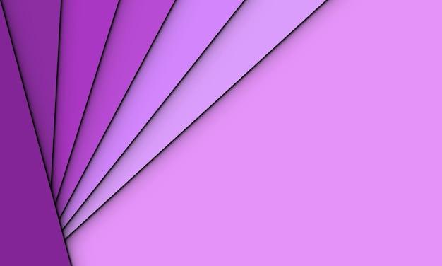 Disposizione del triangolo viola di vettore astratto. concept creativo per il tuo sito web.