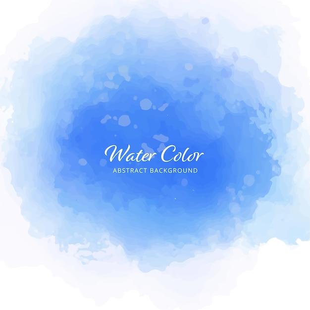 Spazzole astratte della priorità bassa di colore dell'acqua