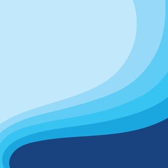 Fondo astratto di progettazione dell'illustrazione di vettore dell'onda di acqua eps10