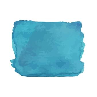 Struttura disegnata a mano dell'acquerello astratto, isolata su fondo bianco, contesto blu di struttura dell'acquerello buono per il design di natale