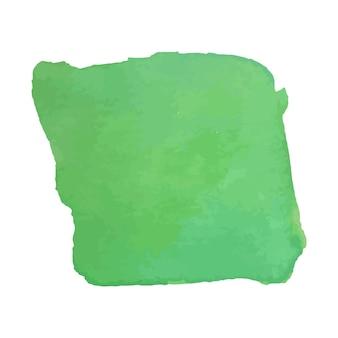 Struttura disegnata a mano dell'acquerello astratto, isolata su fondo bianco, contesto di struttura dell'acquerello verde buono per il disegno di natale