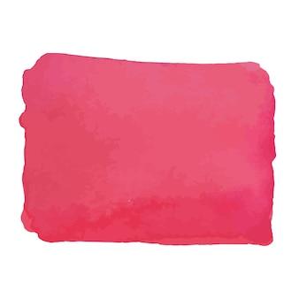 Acquerello astratto disegnato a mano trama, isolato su sfondo bianco, sfondo trama acquerello rosso buono per il design di natale e capodanno