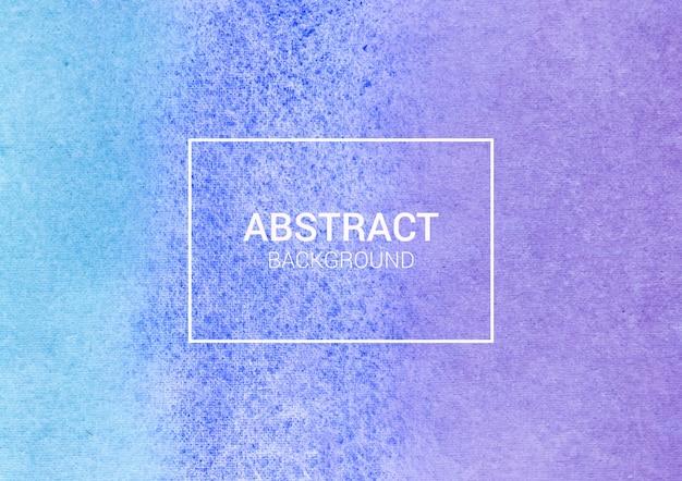 Acquerello astratto sfondo viola e blu design