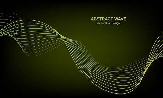 Fondo astratto dell'onda equalizzatore della traccia di frequenza digitale