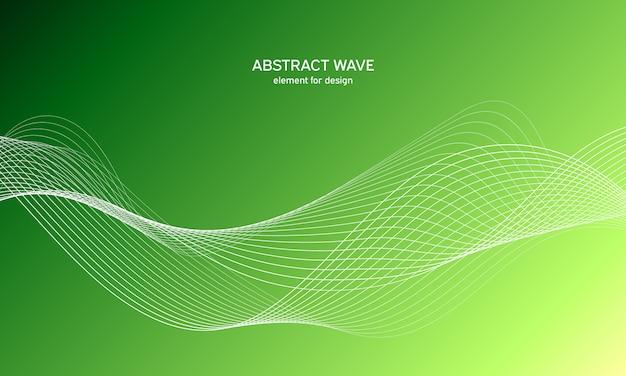 Sfondo astratto onda