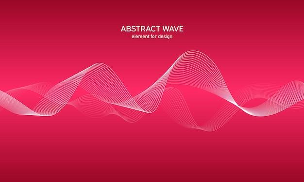 Equalizzatore traccia wave astratta