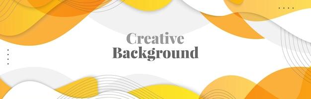 Sfondo astratto ondulato. sfondo creativo colorato per banner, poster o pagina