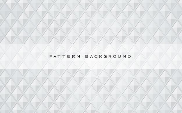 Struttura del modello poligonale astratto sfondo bianco