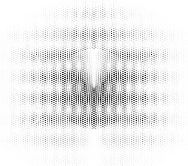 Fondo geometrico bianco astratto per tecnologia. illustrazione vettoriale
