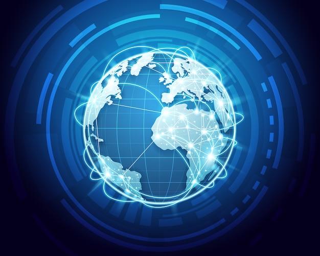 Estratto della rete mondiale