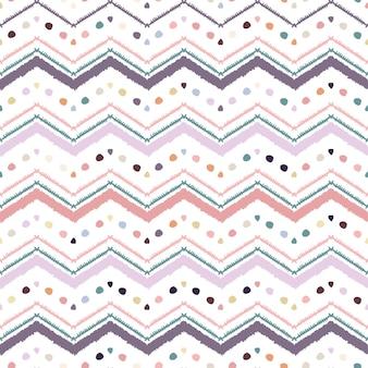 Motivo a zigzag astratto per un design di copertina