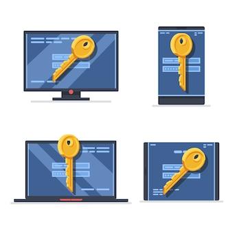 Protezione dei dati dell'account, dispositivi mobili, protezione dei dati personali del desktop del computer portatile