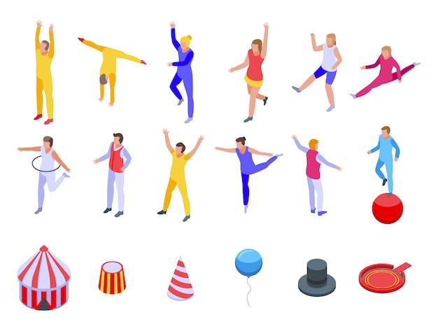 Set di icone di acrobat