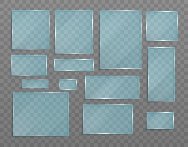Texture in acrilico e vetro con riflessi e luce