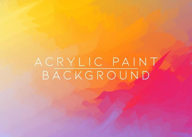 Fondo artistico di struttura della pittura acrilica