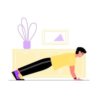 Stile di vita attivo nell'illustrazione vettoriale di isolamento