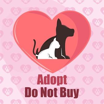 Adotta non comprare animali domestici
