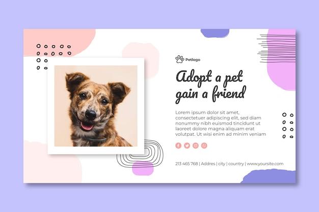 Adotta uno striscione per animali domestici