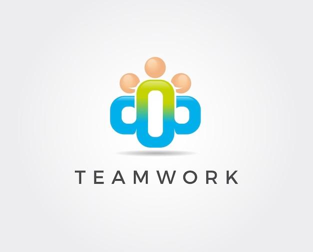 Adozione e cura della comunità logo template vector icon