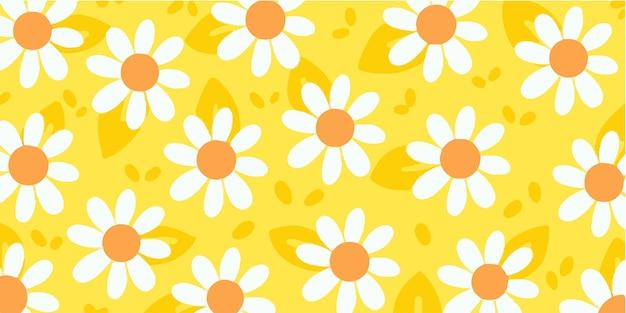 Adorabili e dolci gigli doodle pattern esclusivo
