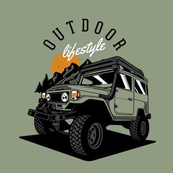 Auto 4x4 avventura