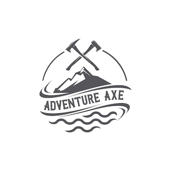 Logo ascia avventura