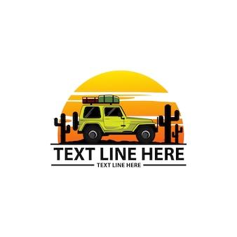 Logo di auto avventura