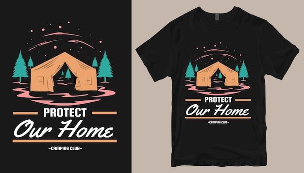 Design t-shirt avventura. design t-shirt da esterno.