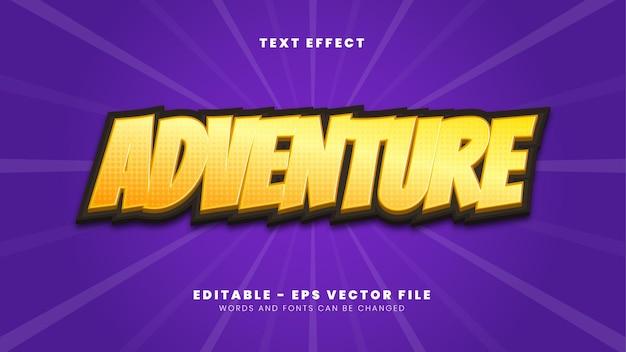 Effetto testo avventura