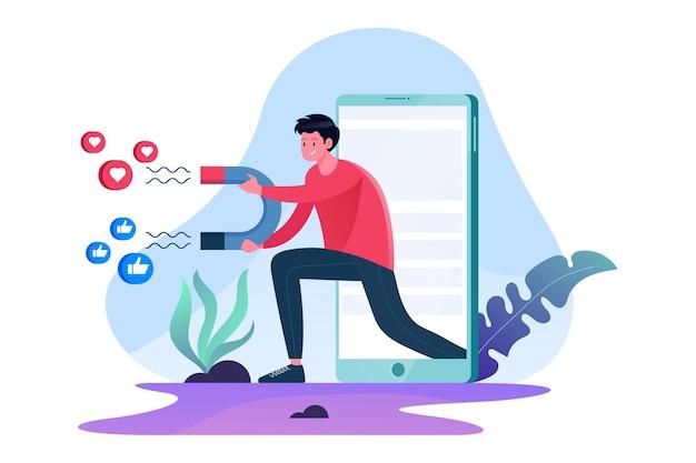 Pubblicità e promozione sui social media per una strategia di marketing