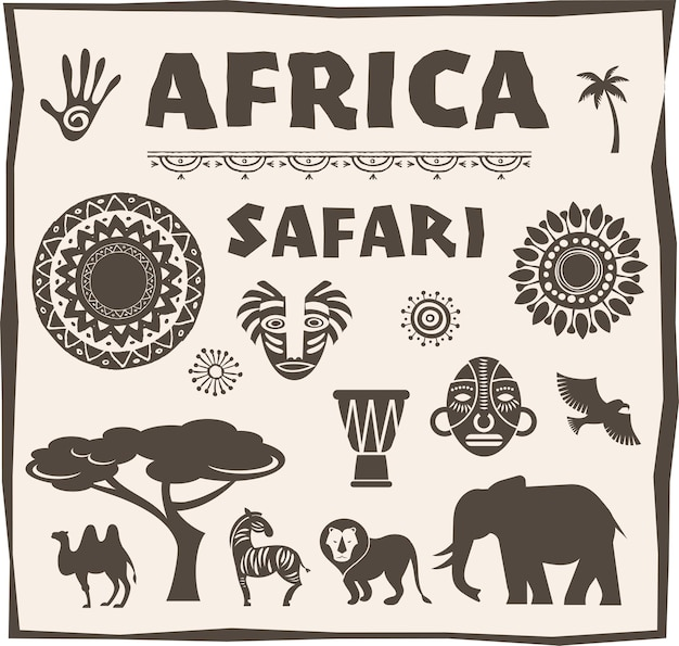 Africa, set safari