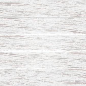 Carta da parati di legno invecchiata del fondo di struttura nel colore bianco