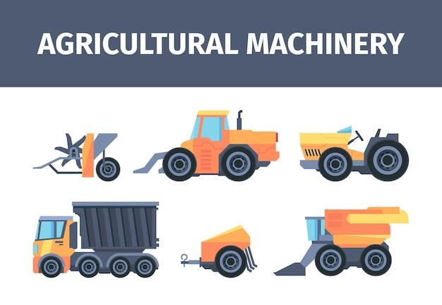 Set di macchine e meccanismi agricoli