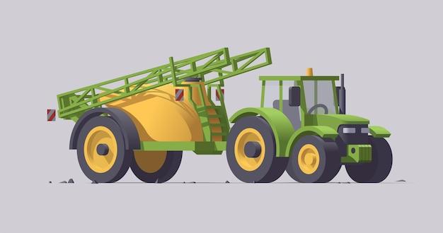 Macchine agricole con attrezzature