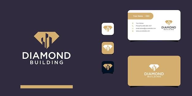 Modello di progettazione del logo della tecnologia dei semi di ia
