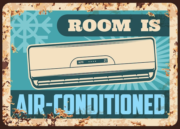 Piastra metallica in camera climatizzata