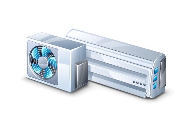 Illustrazione del condizionatore d'aria