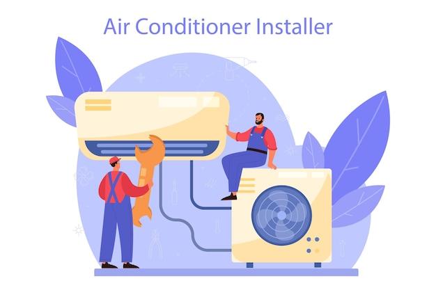 Servizio di riparazione e installazione aria condizionata