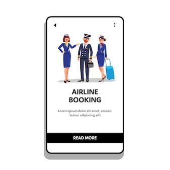 Servizio di prenotazione aerea per viaggi in volo