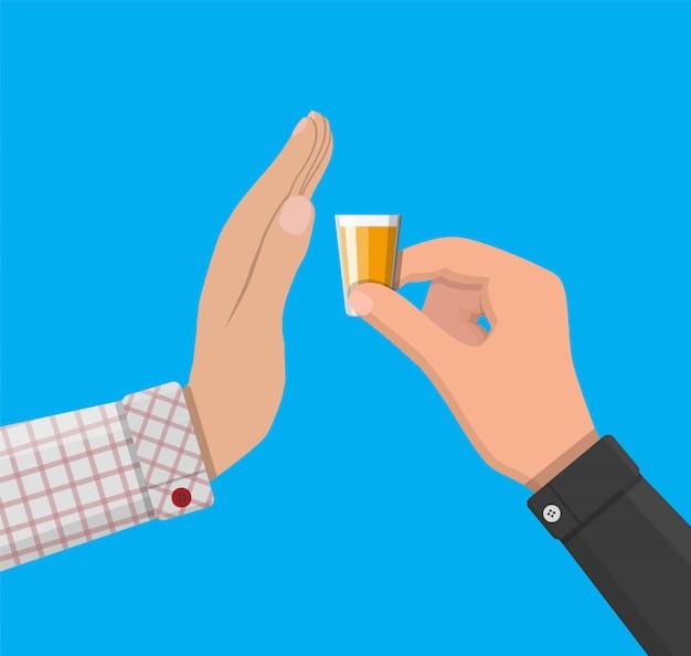 Concetto di abuso di alcol