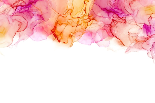Struttura del mare dell'inchiostro dell'alcool. sfondo astratto inchiostro fluido. sfondo colorato dipinto astratto