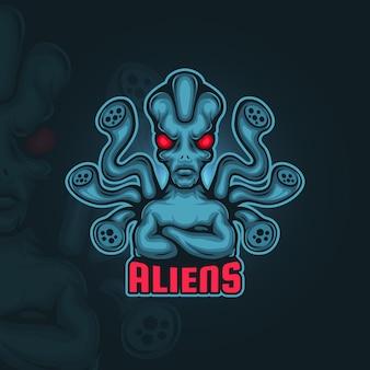 Logo esport alieno