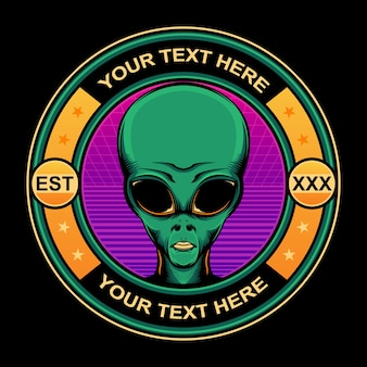 Logo icona aliena