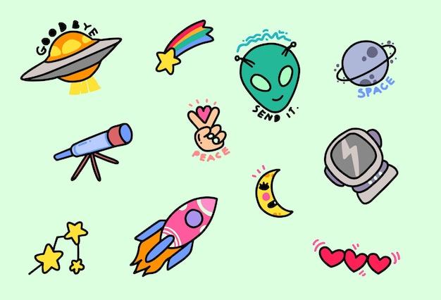Adesivi alieni