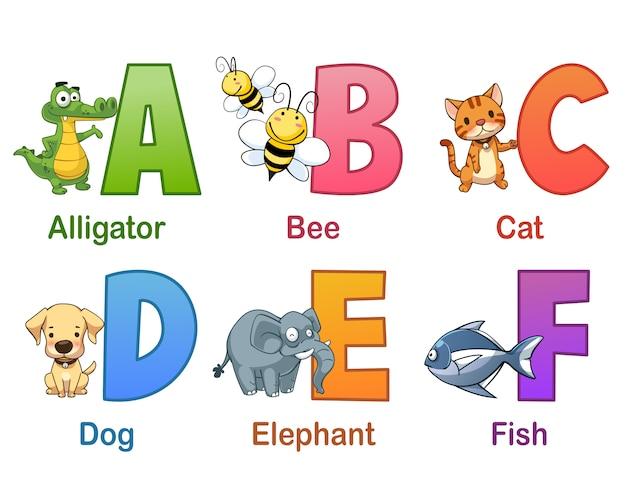 Collezione di alfabeto